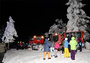 「樹氷幻想回廊」ツアー ナイトクルージング