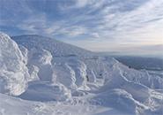 2018年2月22日地蔵山頂付近の樹氷