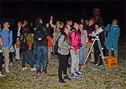 星のソムリエ 星空の観察蔵王地蔵尊付近