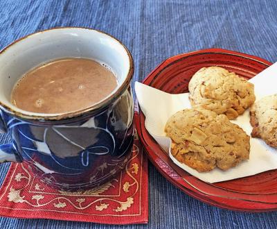 ピーナッツミルク&クッキー(トップ)