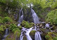 蔵王 不動の滝
