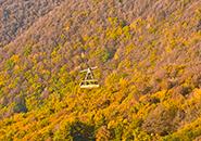 (1) 紅葉空中散歩、蔵王中央ロープウェイ