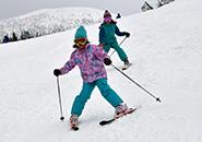 ちびっこスキー ユートピアゲレンデ